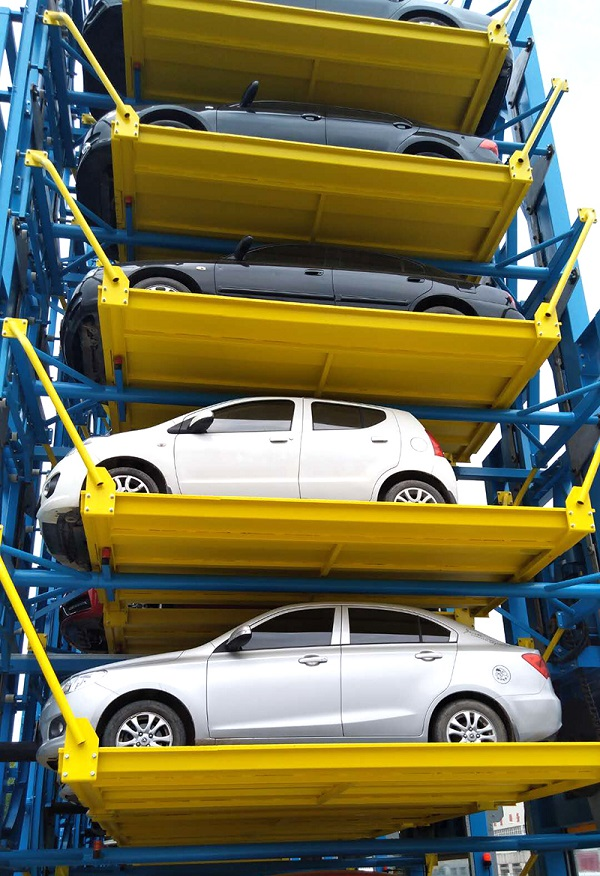 The appearance of the three-dimensional garage has better solved the parking space problem